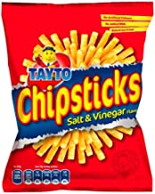 TAYTO Chipsticks - Salt and Vinegar flavour snacks from Ireland (22 x 28g packs)
