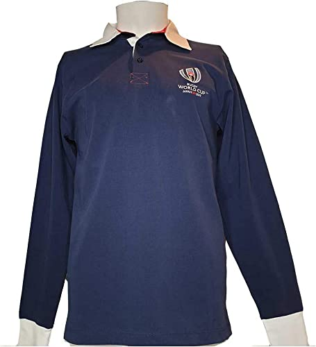 Polo Coupe du Monde DE Rugby 2019 - Collection Officielle Rugby World Cup - Taille Homme
