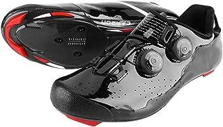 Zapatillas de Bicicleta, Zapatillas de Ciclismo de Fibra de Carbono para Carreras de Ciclismo de Carretera en Bicicleta de montaña