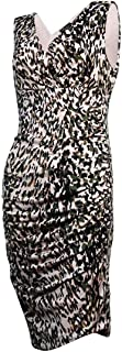 Women's Camo Print Side Ruched Dress