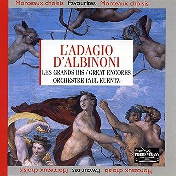 L'Adagio d'Albinoni : Les grands bis, vol.1