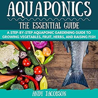 Aquaponics: The Essential Aquaponics Guide audiobook cover art