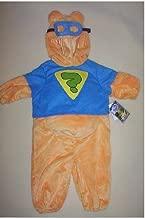 DISNEY SUPER SLEUTH WINNIE THE POOH COSTUME Boys Infant Deluxe Costume Soft Plush Padded Tummy Masked Hood Zippered