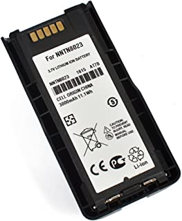 HYS High Capacity 3000Mah Li-ion 3.7V Rechargeable Battery NNTN8023 Replacement for MTP3100, MTP3200, MTP3250