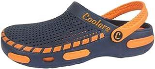 Coolers Men's Garden Beach Yard Pool Mule EVA Clog Shoe