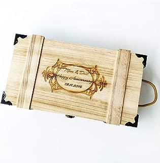 custom wine boxes wooden