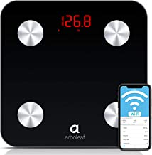 Arboleaf Smart Scale - Weight Scale Bluetooth Body Fat Scale, Unlimited Users, Auto Recognition, 14 Body Composition Analy...