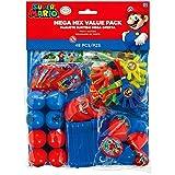 Super Mario Brothers Mega Mix Value Pack Favors, Party Favor
