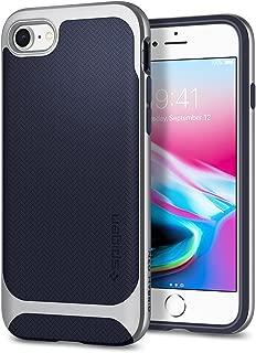 Spigen Neo Hybrid Designed for Apple iPhone 8 Case (2017) / Designed for iPhone 7 Case (2016) - Satin Silver