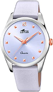 Lotus watches Womens Analog Quartz Watch with Leather bracelet 18642/3