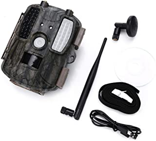 XUHUIXZI Worth Having Wildlife Trail Camera 12MP 1080P HD Infrared Cam,0.6 Trigger Time Low Glow Night Vision 65Ft with 52...