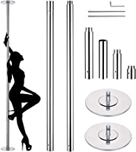 AW 45mm Dancing Pole Kit Removable Portable Spinning & Static Dance Sport Exercise Fitness Gym Club Party Pub 9ft