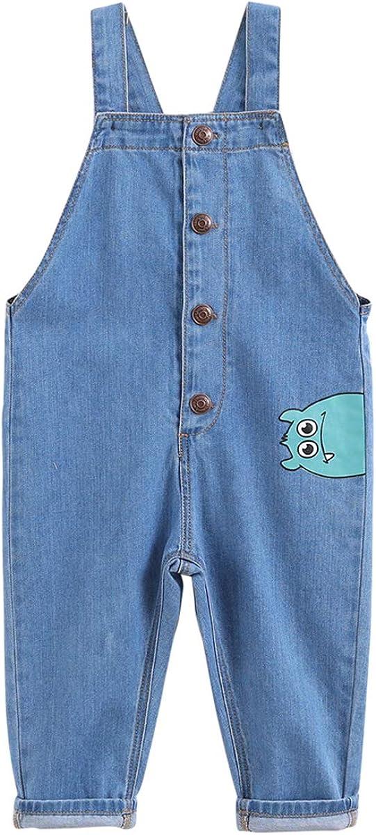 marc janie Boys Fashion Denim Overalls Baby Boys Cute Jeans Strap Pants