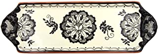 Hand-painted Vintage Traditional Portuguese Terracotta Tart Tray