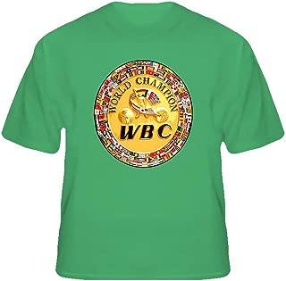 BrooklynSteez Men's WBC Boxing Championship Belt Boxing T Shirt