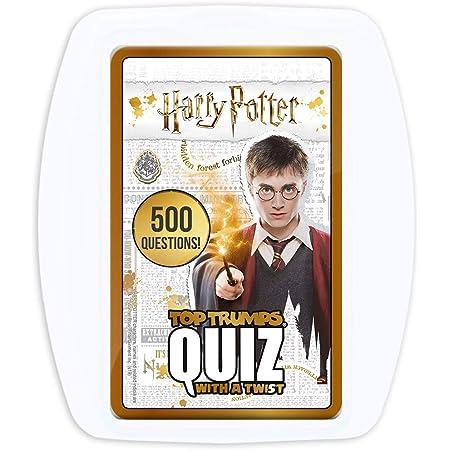 Harry Potter Top Trumps Quiz Game