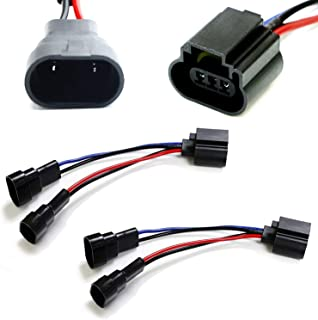 iJDMTOY (2) Dual 9005/9006 To H13 Wiring Conversion Adapters Compatible With Headlight Retrofit