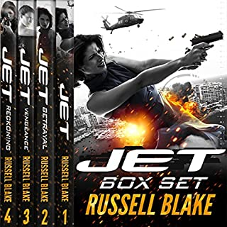 JET (4 Novel Bundle) audiobook cover art