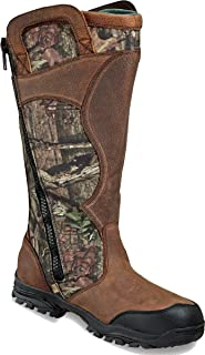 hunting snake boots with zipper