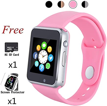 Smart Watch Womens Bluetooth Smart Watches Phone Touch...