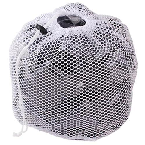Chinget Wäschenetz mit Lanyard Waschen Taschen, Wäsche Beutel Wäschesack für Waschmaschine - Grobnetz (M - 40*50 cm)
