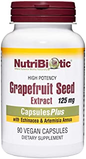 Nutribiotic - High Potency Grapefruit Seed Extract 125 Mg. 90 Vegan Caps
