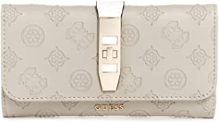 GUESS Peony Classic SLG Multi Clutch Taupe Multi One Size