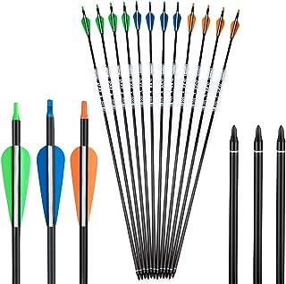 Deerseeker 100% Pure Carbon Arrow ID 0.246