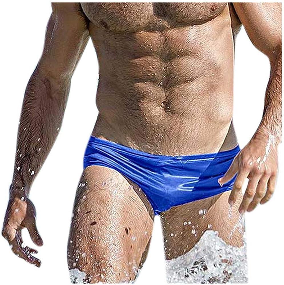 Celucke Badeslip Herren M/änner Slips String Badestring Tanga Enge Badehose Schwimmhose Kurze Badeshorts Stretch Badepants Bademode Schnelltrocknend Schwimmshorts Sommer Shorts