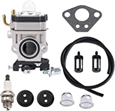 Hipa 300486 Carburetor for Earthquake E43 E43CE Auger MC43 MC43CE MC43E MD43 Tiller Cultivator WE43 WE43E Edger Powermate PEA438 PCV43 Southland SCV43 SEA43 SEA438 Eskimo Mako M43 43cc 51.7cc Engine