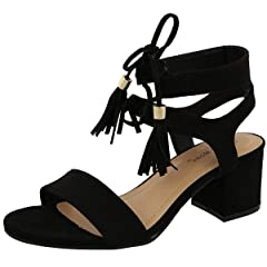 a368b7720ad17 Lace up block heel - Casual Women's Shoes