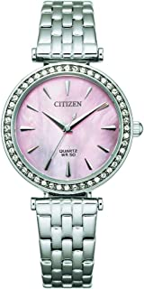 سيتيزن ساعة رسمية للنساء انالوج بعقارب ستانلس ستيل - ER0210-55Y