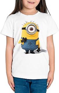 Camiseta Niña - Unisex Dibujos Animación, Minions