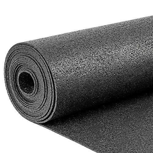 5m² Gummigranulatmatte Strong 1,25m x 4,00m | Stärke: 3mm | Bautenschutzmatte