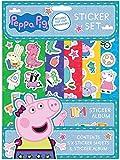 Peppa Pig PESST3 - Juego de pegatinas, multicolor