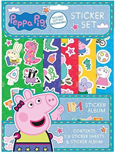 Peppa Pig PESST3 Aufkleberset, Multi, A4
