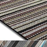 casa pura Design Bodenschutzmatte Asti in 6 Größen   dekorative Unterlegmatte für Bürostühle oder Sportgeräte (120 x 90 cm)