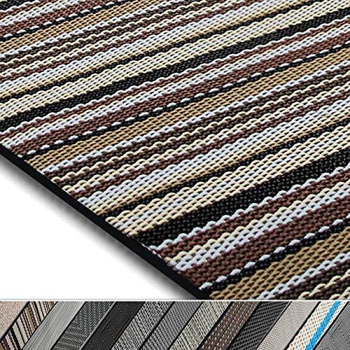 casa pura Design Bodenschutzmatte Asti in 6 Größen | dekorative Unterlegmatte für Bürostühle oder Sportgeräte (120 x 90 cm)