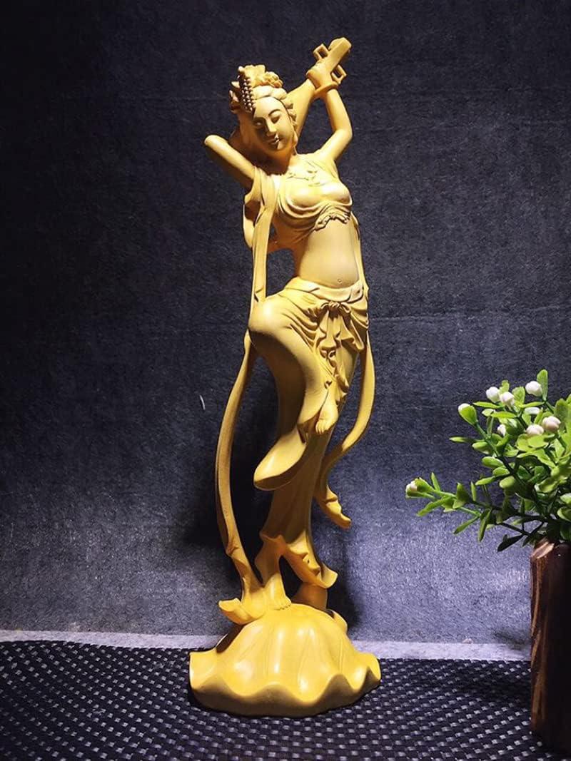 UJHNM Columbus Mall Decor Sculpturesstatue Figurines Statues Exqui Limited price Wood Solid
