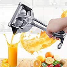 KWT Stainless Steel Manual Fruit Juicer Hand juicer, Fruit juicer Manual juicer Instant juicer Orange juicer, Steel Handle Juicer | Manual Lemon Juicer (Standard)