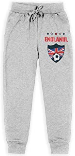 Dxqfb England 2019 World Football Boys Sweatpants,Sweatpants For Boys