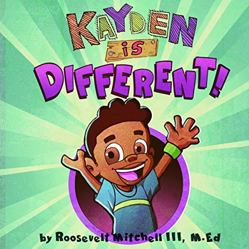 Kayden Is Different audiobook cover art