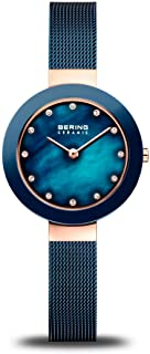 Time   Women's Slim Watch 11429-367   29MM Case   Ceramic Collection   Stainless Steel Strap   Scratch-Resistant Sapphire Crystal   Minimalistic - Designed in Denmark