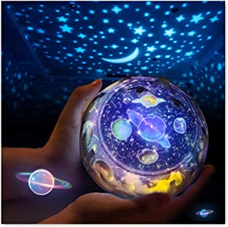 Kiturro Star Night Light Universe Projection Lamp Romantic Projector for Bedtime, Suits for Kids, Girls, Teenage as a Gift...