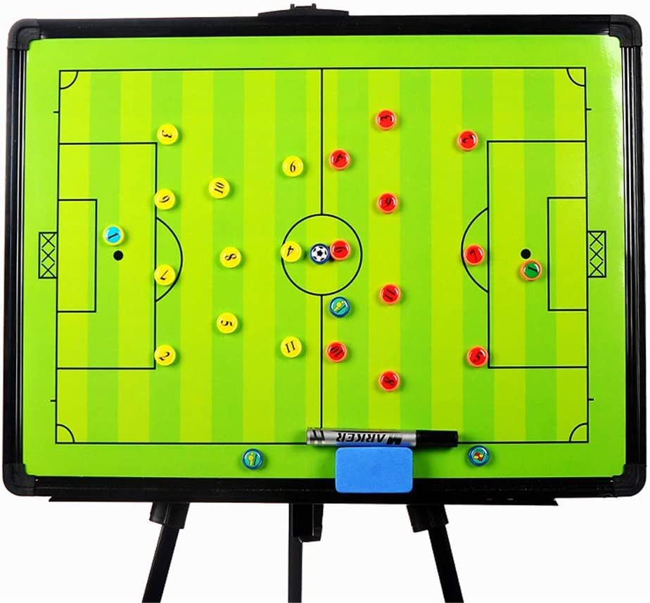 Joyeee Football Soccer Shipping included Magnetic Alternative dealer Tactic Coach Cli Board Coaching