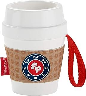 Fisher-Price On-The-Go - Mordedor con diseño de taza café, Taza de café