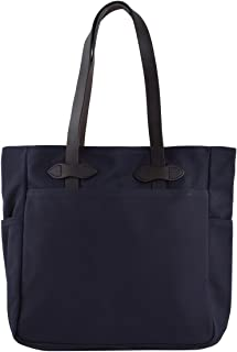 Rugged Twill Tote Bag Without Zipper Navy
