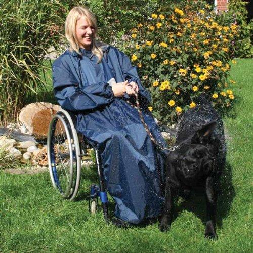 Regencape für Rollstuhlfahrer mit Armen XXL