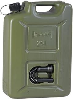 hünersdorff 802010 Brandstofjerrycan Profi 20 l voor benzine, diesel en andere gevaarlijke goederen, UN-goedkeuring, Made ...