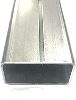 "Steel Square Tube 2/"" x 2/"" x 48/""-Long x .125/"" Wall--/>2/"" Steel Square Tube x .125/"""